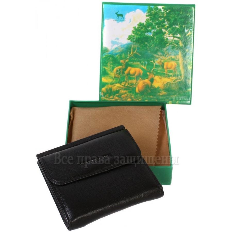 0160ee2ec515 Стильный мужской кошелек двойного сложения из натуральной кожи - Мерцана