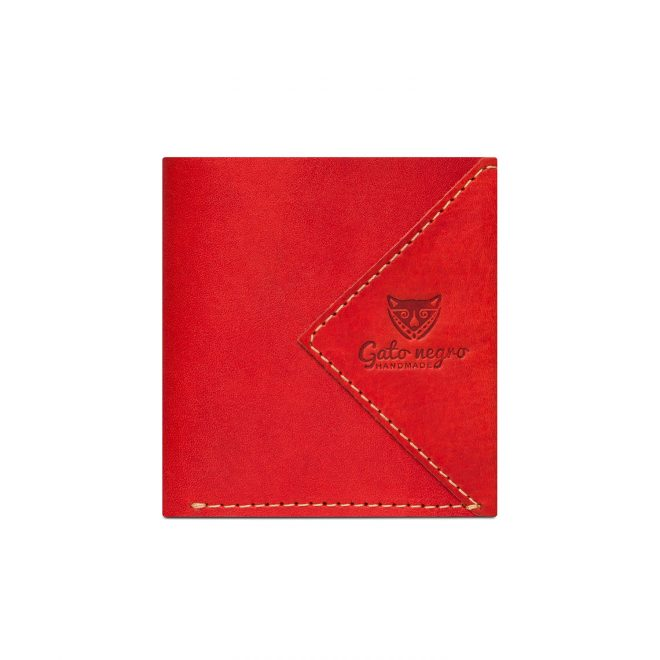 Wallet-Gato-Negro-Compact-Red