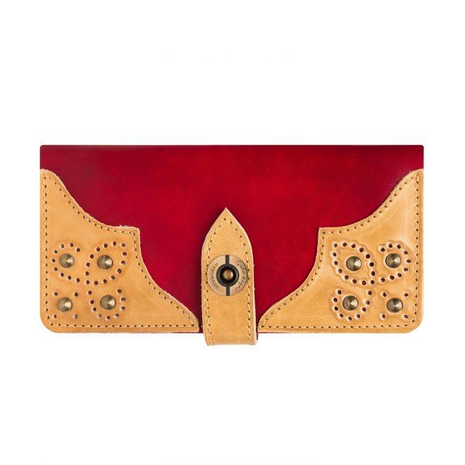 Wallet-Gato-Negro-Retro-Red-Ivory
